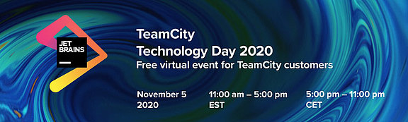 JetBrains TeamCity Technology Day 2020